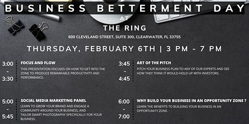 Business Betterment Day with The Ring