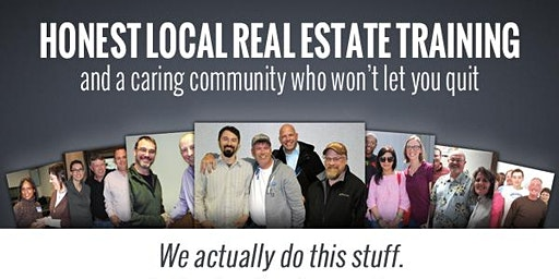 CREATE A FORTUNE IN REAL ESTATE - JOIN OUR REAL ESTATE MEETING FREE
