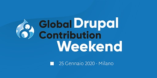 Drupal Global Contribution Weekend