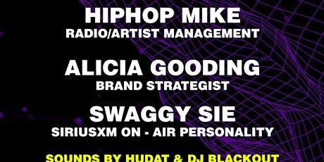 Industry night w/ Hiphop Mike, Alicia Gooding, Swaggy Sie, and Joe Chong tickets