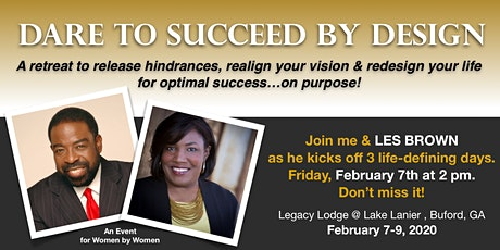 DARE to Succeed by Design: Choose to Live & Lead by Design, not Default! tickets