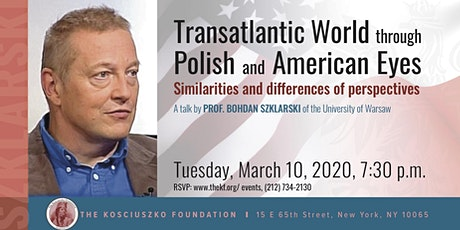 Transatlantic World through Polish and American Eyes  - A talk tickets