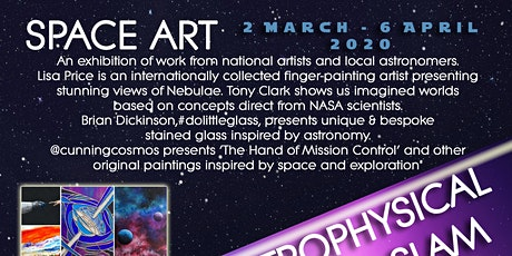 Meet the Artists Exhibiting Space Art at Artrix for an Exhibition Preview tickets