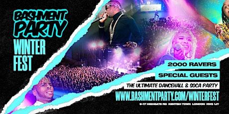 Bashment Party - Winter Fest 2020 tickets