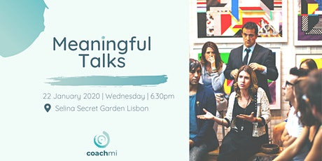 Meaningful Talks | (Ex)changing Countries Edition bilhetes