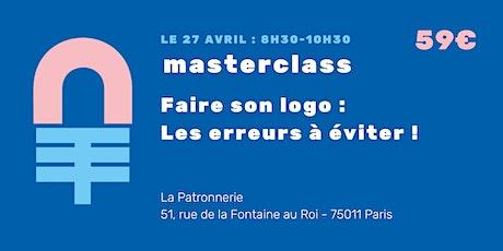 Masterclass : Mon logo, les erreurs à ne pas fairebillets