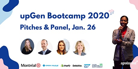 2020 upGen Bootcamp Pitches & Panel tickets