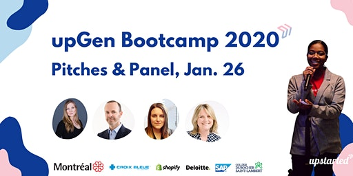 2020 upGen Bootcamp Pitches & Panel