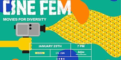 CINE FEM - Movies for Diversity bilhetes