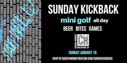 Sunday Kickback at Cheeky Monkey