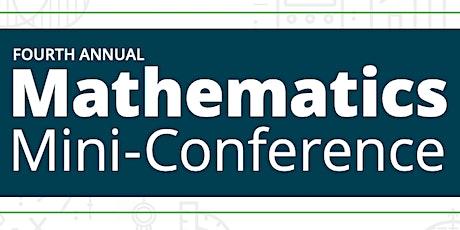 4th Annual Math Mini-Conference tickets