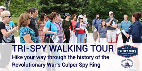 Tri-Spy Walking Tour (Multiple Dates) tickets