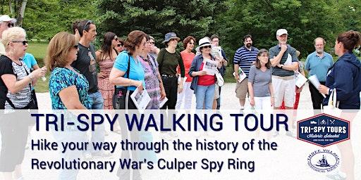Tri-Spy Walking Tour (Multiple Dates)