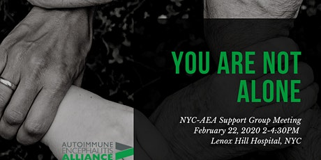 NYC Support Group meeting tickets