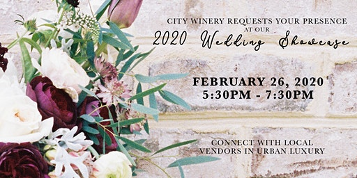 City Winery Boston Wedding Showcase