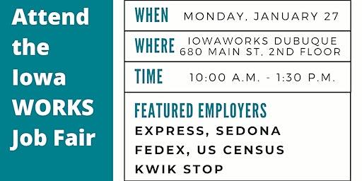 IowaWORKS January Job Fair