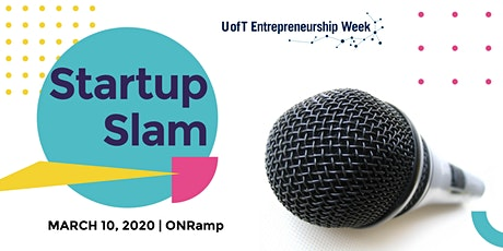 University of Toronto Startup Slam tickets