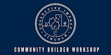 Community Builder Workshop tickets