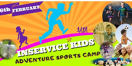 MILNE'S INSERVICE ADVENTURE SPORTS CAMP THURSDAY 6TH OF FEBRUARY tickets