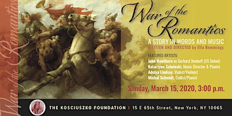 War of the Romantics - A Story in Words and Music tickets