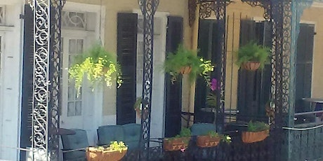 New Orleans Balcony - Private Magical Speakeasy for Mardi Gras tickets