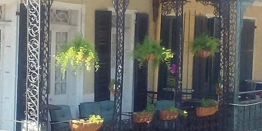 New Orleans Balcony - Private Magical Speakeasy for Mardi Gras