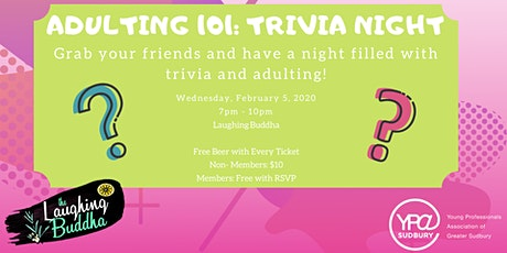 Adulting 101: Trivia Night tickets