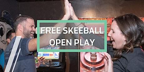 Free Skeeball Open Play tickets