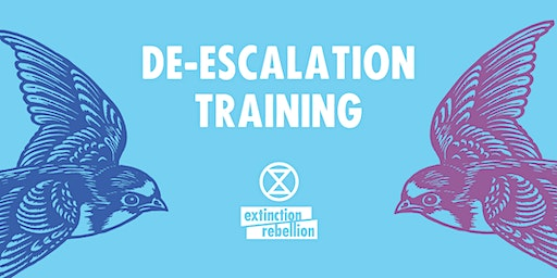 De escalation Training - essential for all actions both large and small