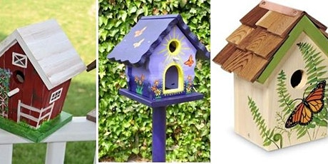 Crazy Crafty Chicks : Decorate your own Bird House tickets