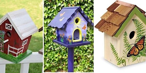Crazy Crafty Chicks : Decorated Bird Houses