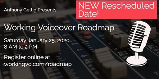Working Voiceover Roadmap Workshop Jan 25, 2020