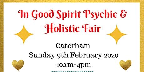 In Good Spirit Psychic & Holistic Fair - Caterham! tickets