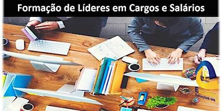 Formação de Líderes em Cargos e Salários ingressos