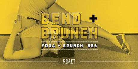 Bend & Brunch - Sponsored by Trico Centre Yoga tickets
