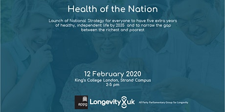 The Health of  the Nation:  A Strategy for Healthier Longer Lives tickets