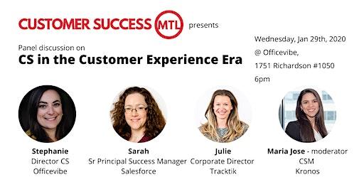 Customer Success in the Customer Experience Era (Panel)