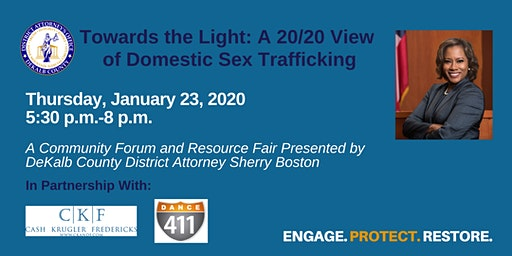 Office of the DeKalb County District Attorney's Human Trafficking Forum