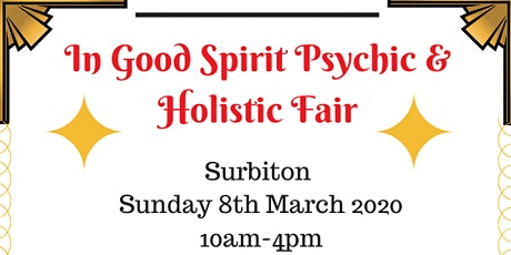 In Good Spirit Psychic & Holistic Fair! - Surbiton tickets