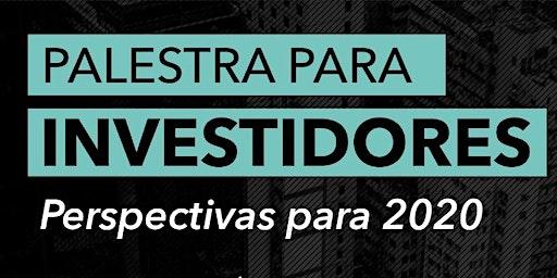 Palestra para Investidores perspectivas para 2020