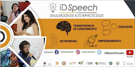 iD-Speech 2020: Celdas de combustible microbianas para bio-generación eléctrica basados en nano-estructuras de carbono y su potencial implicación en la purificación de fuentes hídricas entradas