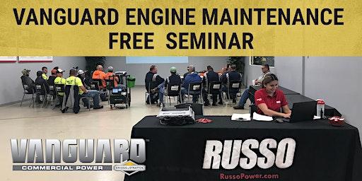 Vanguard Engine Maintenance Seminar