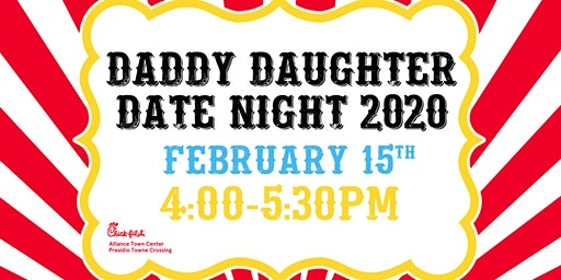 Daddy Daughter Date Night | 4:00-5:30PM