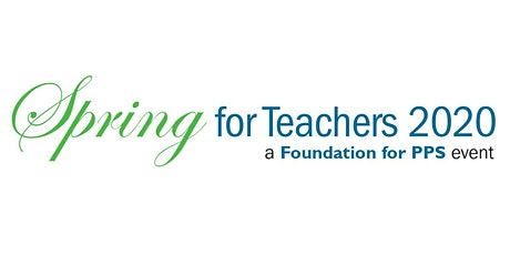 Spring for Teachers 2020 tickets