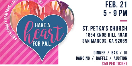 Have a Heart for P.A.L. Fundraiser tickets