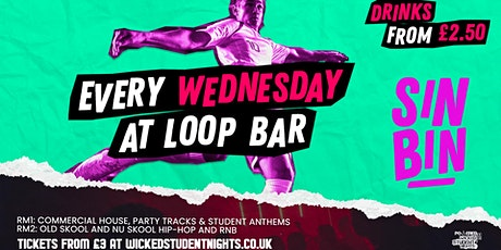 Sin Bin every Wednesday at LOOP Bar tickets