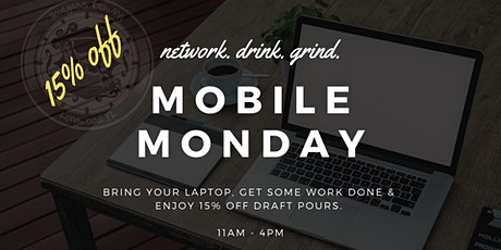 Mobile Mondays - Get 15% Off! tickets