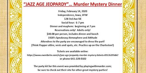 Jazz Age Jeopardy Murder Mystery