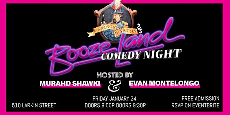 Free Comedy Night at Boozeland tickets