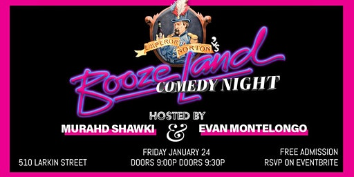 Free Comedy Night at Boozeland